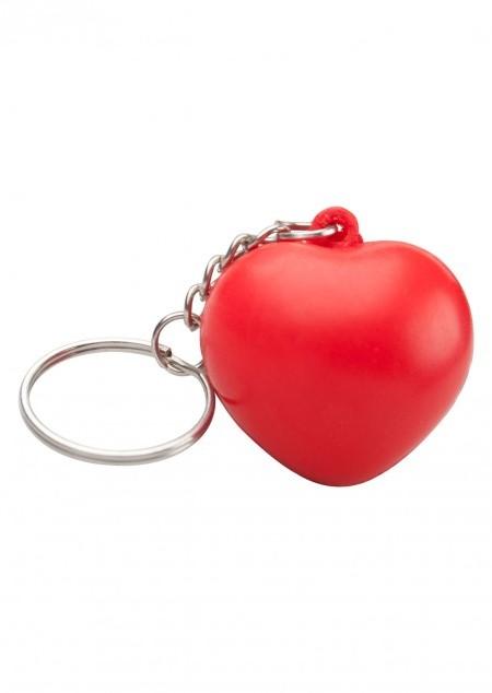 Schlüsselanhänger mit Antistress-Herz