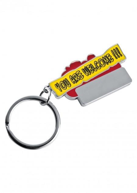 Schlüsselanhänger You are welcome !!!