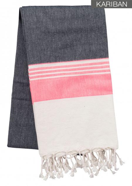 Fouta-Tuch mit Streifen