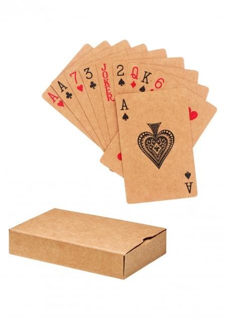 Recycelte Spielkarten