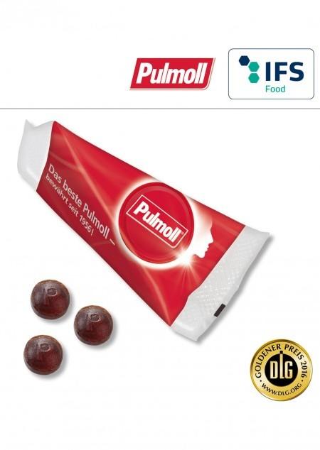 Promo-Spitz mit Pulmoll Originall Pastillen