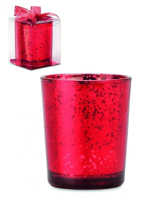 Teelichthalter Purpurin