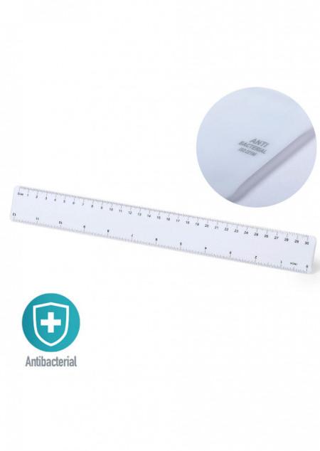 Antibakterielles Lineal, 30 cm