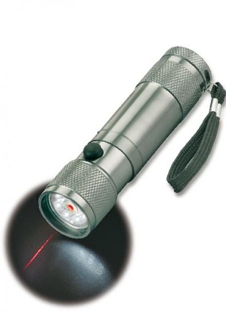 LED-Leuchte mit Laserpointer