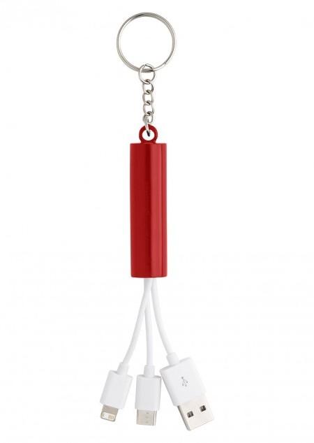 3-in-1 Ladekabel 'Triple' aus ABS-Kunststoff
