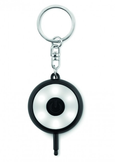 Schlüsselring mit Mini-Lampe