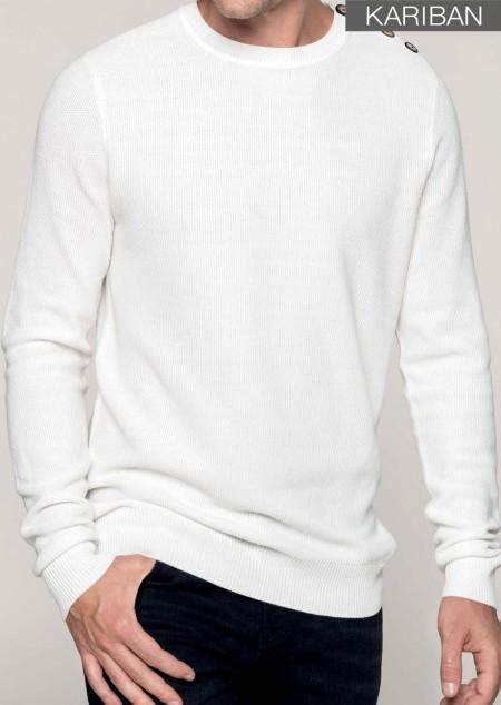 Pullover mit Fantasie-Strick