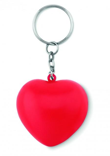Schlüsselring mit PU Herz