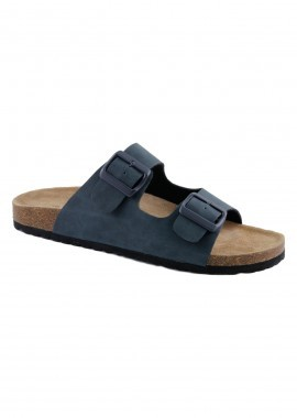 Softwaves Herren-Pantolette offen