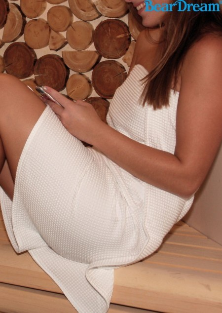 Damen Sauna Kilt