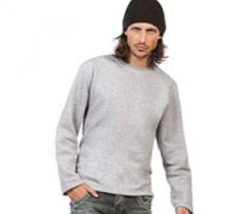 Sweatshirts Basics & Herren ohne Bündchen