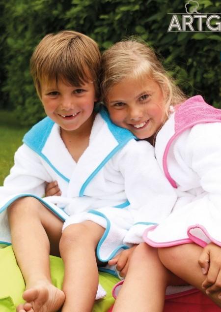 Kinder Kapuzen-Bademantel