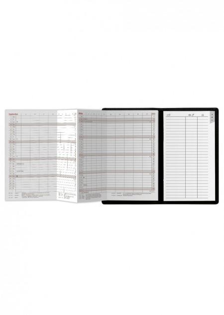 Taschenkalender Wechselhülle Classic PVC Alpha