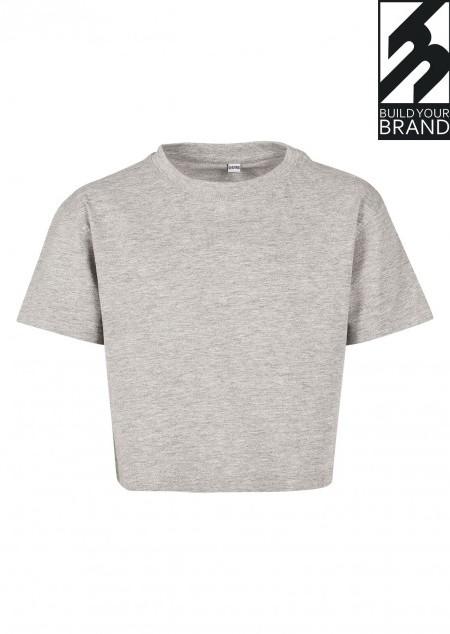 Kurzes Mädchen T-Shirt
