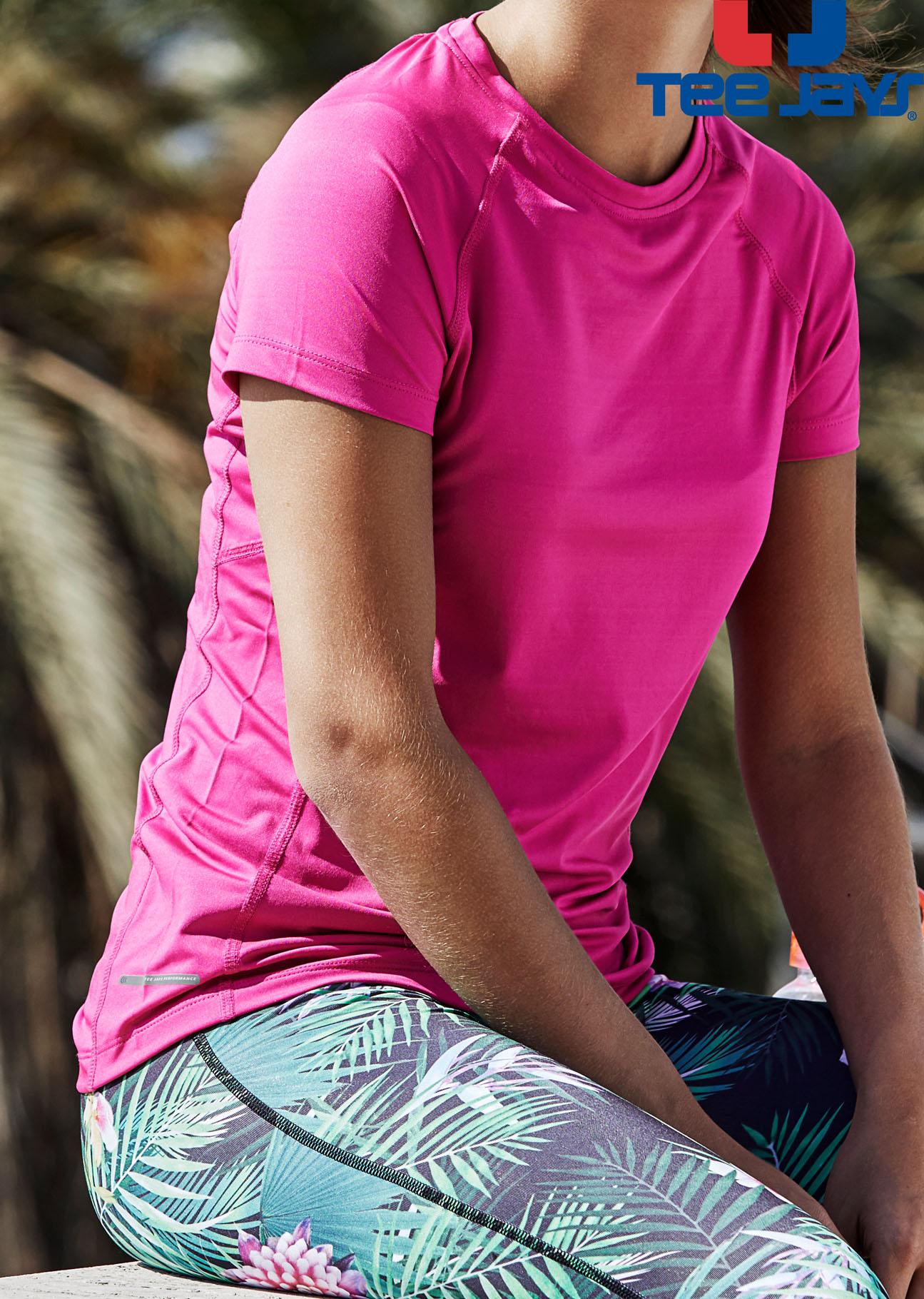 info for 17733 88a72 Tee Jays, Damen Cool Dry Funktions-Shirt, günstig bedrucken ...