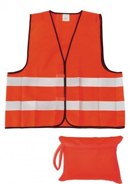 Sicherheits-/Warnweste HERO 2.0 in Signalfarbe