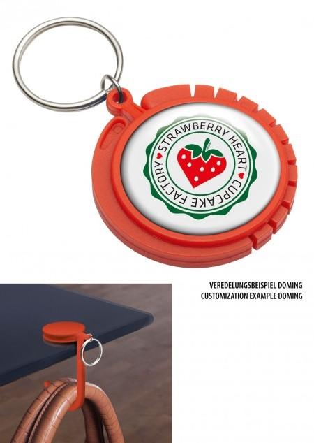 Schlüsselanhänger mit Taschenhaken