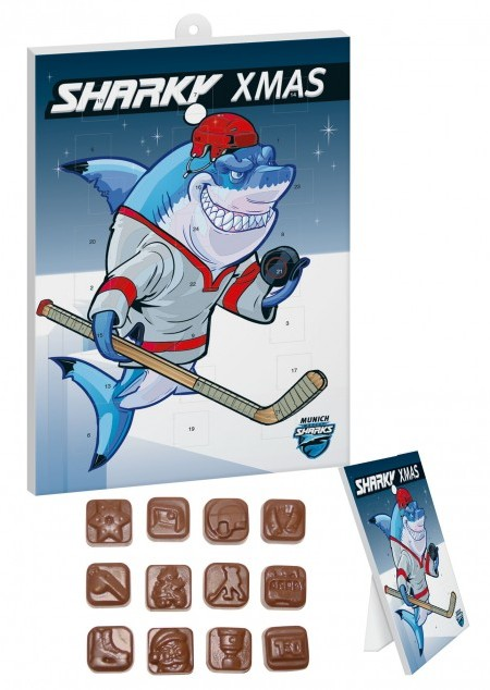 Eishockey Schoko-Adventskalender