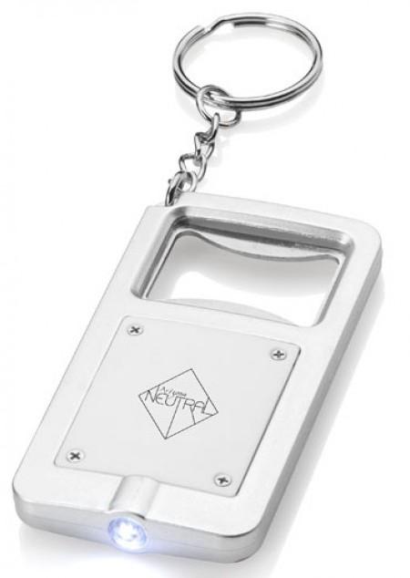 Schlüsselanhänger mit Licht/Flaschenöffner
