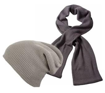 Mützen und Schals