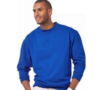 Sweatshirts Basics & Herren mit Bündchen