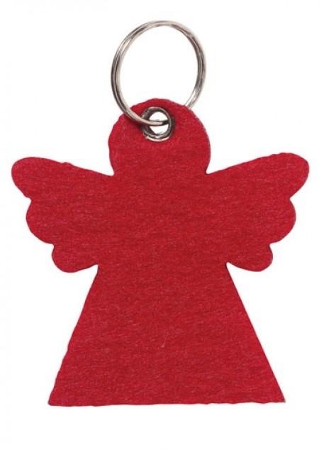 Filz-Schüsselanhänger Engel