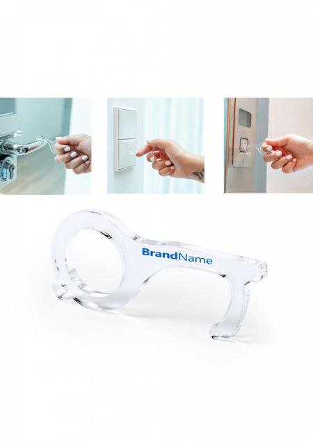 Schlüsselanhänger mit Hygiene-Schlüssel