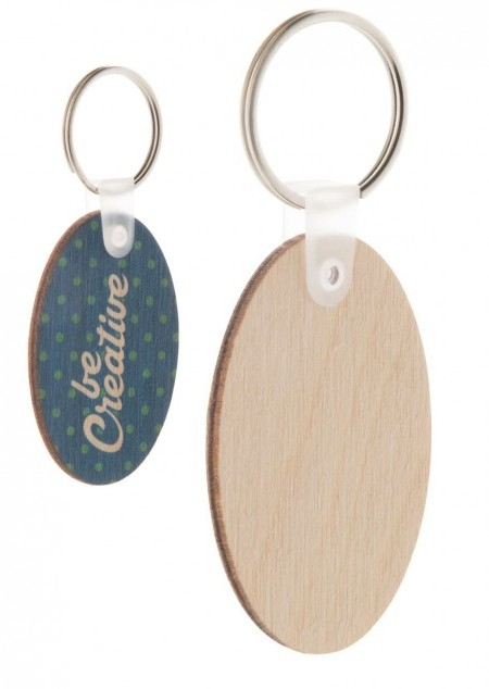 Holz Schlüsselanhänger inklusive Allover-Druck