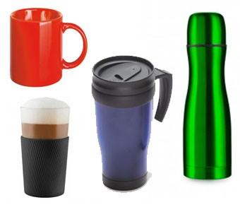 Tassen, Gläser, Kannen, Becher
