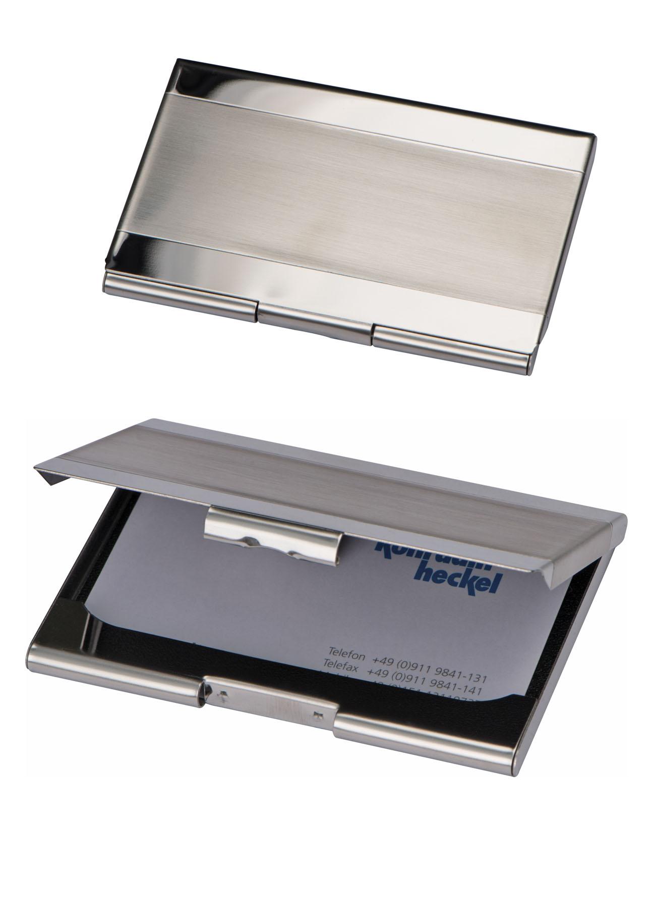 Metall Visitenkartenetui Visitenkartenbox
