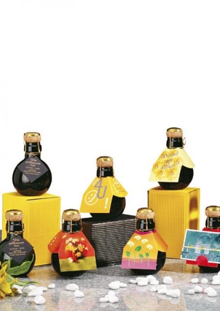 Die kleinste Sektflasche der Welt