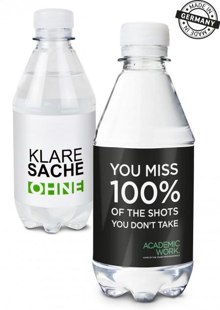 Mineralwasser mit Kohlensäure - PET 330 ml