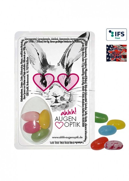 Sweet Card mit American Jelly Beans