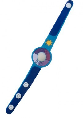 Armbanduhr mit UV-Tester
