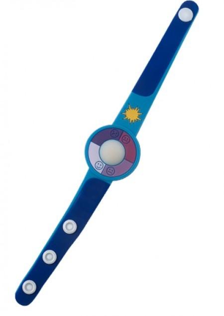 Armband 'Happy face' aus Kunststoff