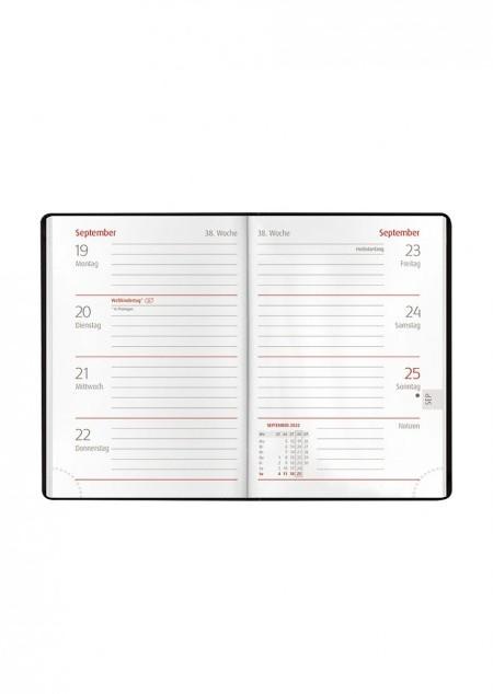 Taschenkalender Classic PVC Alpha