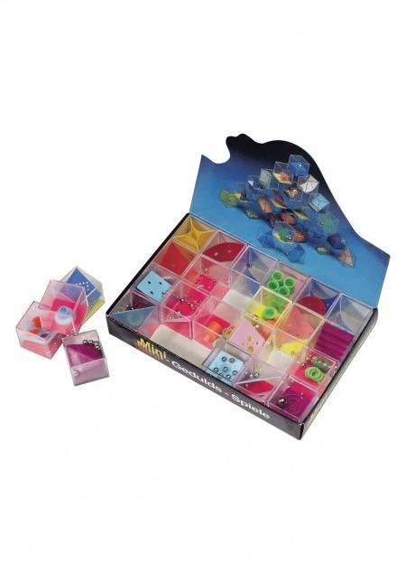 Geduldsspiel 'Mikro' aus Kunststoff im 24er Displaykarton (Mindestmenge 24 Stück im Display - Preis pro Stck.)