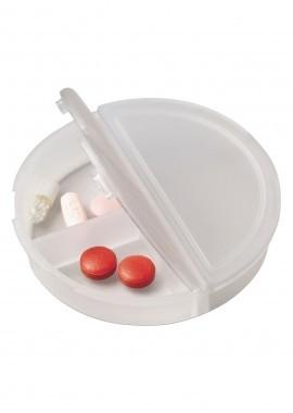 Pillendose aus Kunststoff