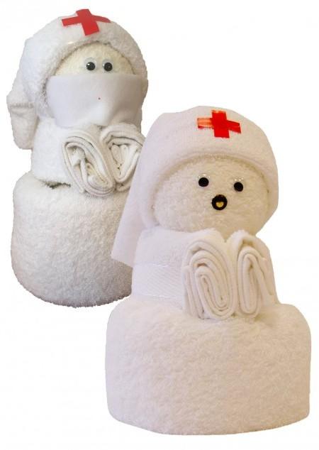 Frottier Krankenschwester