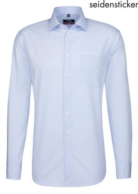 f0ac46c802f57 Seidensticker Langarm Hemd Check   Stripes