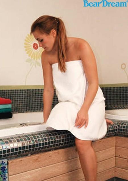 Damen Quick-Dry Sauna Kilt