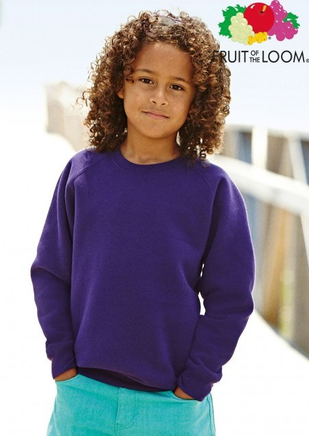Kids Raglan Sweat