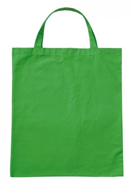 Baumwolltasche mit kurzen Henkeln