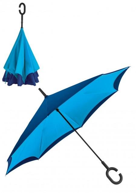 Umklappbarer Regenschirm