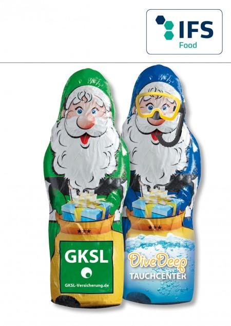 Maxi Schoko Weihnachtsmann Vollmilch-Schokolade