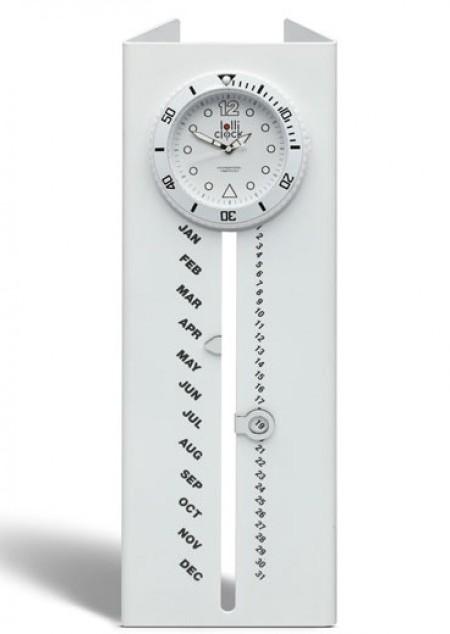 Uhr mit Kalender LOLLICLOCK CALENDAR