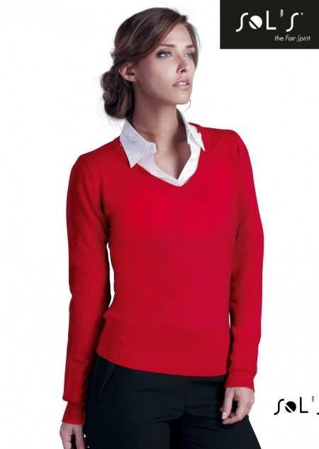 Womens V-Neck Sweater