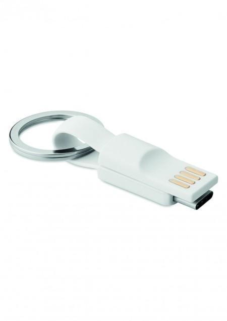 Schlüsselring mit Kabel Typ C