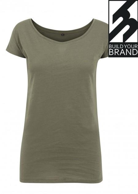 Damen Wideneck T-Shirt