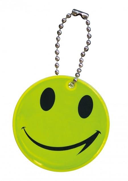 Reflektierender Smiley Anhänger